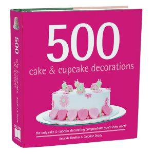 500 Cake & Cupcake Decorations-3D