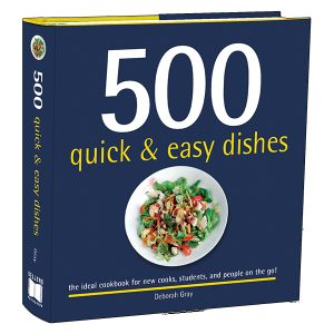 500 Quick & Easy Dishes-3D