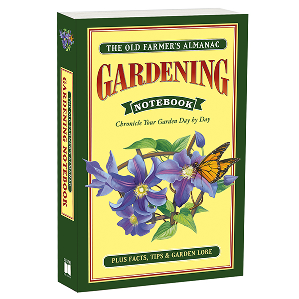 The Old Farmers Almanac Gardening Notebook RSVP