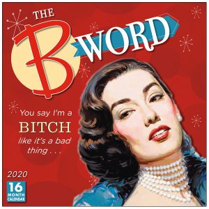 The B Word 2020 Wall Calendar