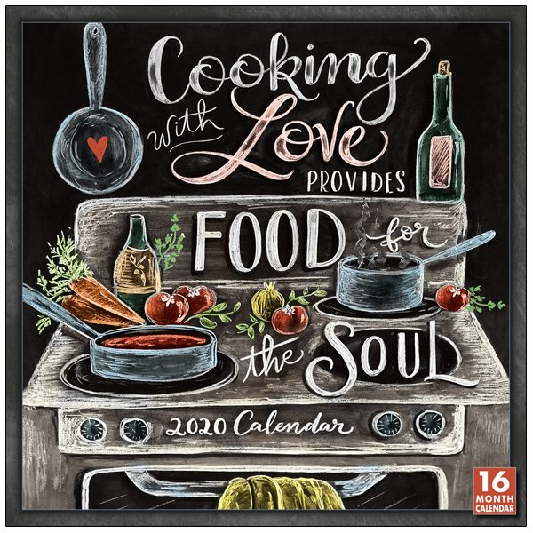 Cooking With Love Provides Food for the Soul 2020 Wall Calendar