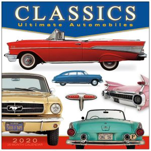 Classics: Ultimate Automobile 2020 Wall Calendar