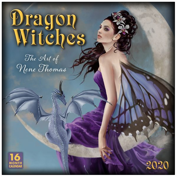 Dragon Witches 2020 Wall Calendar