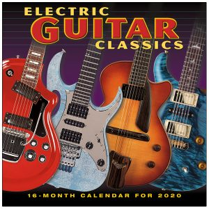 Electric Guitar Classics 2020 Wall Calendar