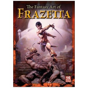 The Fantasy Art of Frazetta 2020 Wall Calendar