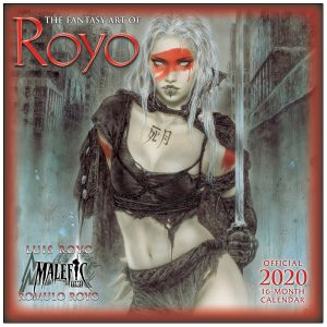 The Fantasy Art of Royo 2020 Wall Calendar
