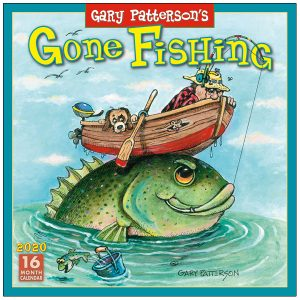 Gone Fishing 2020 Wall Calendar