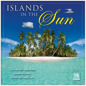 Islands in the Sun 2020 Wall Calendar