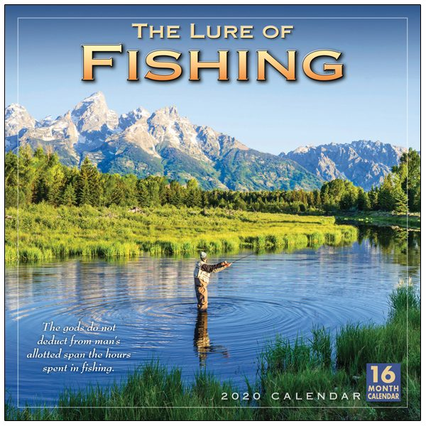 The Lure of Fishing 2020 Wall Calendar