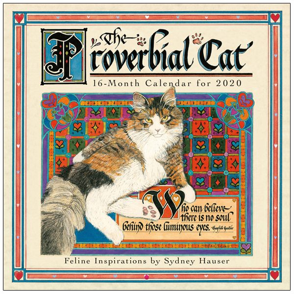 The Proverbial Cat 2020 Wall Calendar
