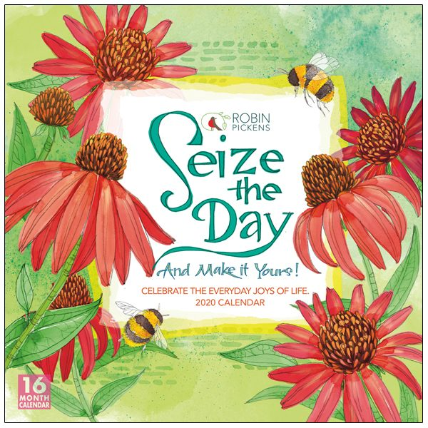 Seize the Day 2020 Wall Calendar