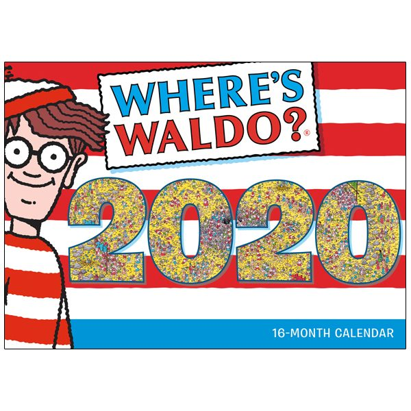 Where's Waldo® 2020 Wall Calendar