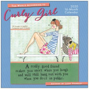 The World According to Curly Girl 2020 Wall Calendar