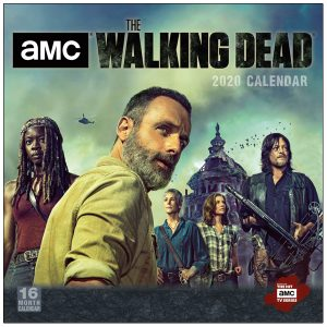 AMC The Walking Dead 2020 Wall Calendar