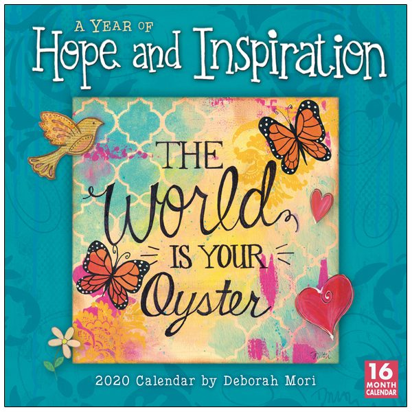 A Year of Hope and Inspiration 2020 Wall Calendar