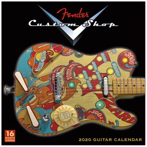 Fender™ Custom Shop Guitar Calendar 2020 Wall Calendar