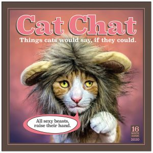 Cat Chat 2020 Wall Calendar
