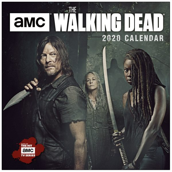 AMC The Walking Dead® 20120 Mini Calendar