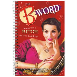 The B Word 2020 Weekly Planner