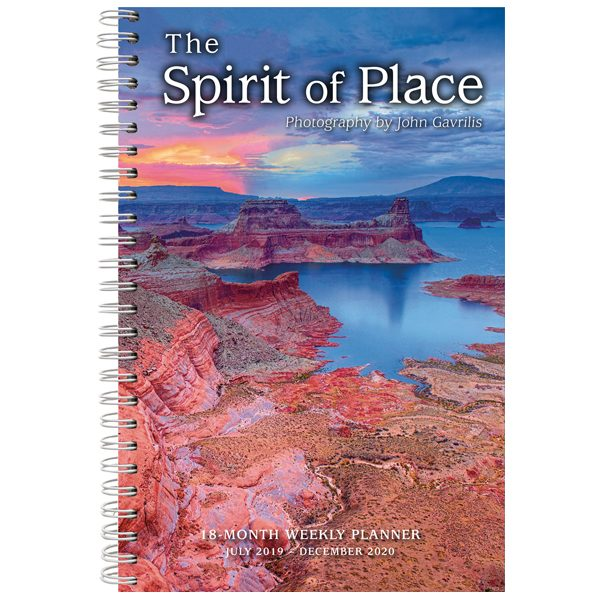 The Spirit of Place 2020 Weekly Planner