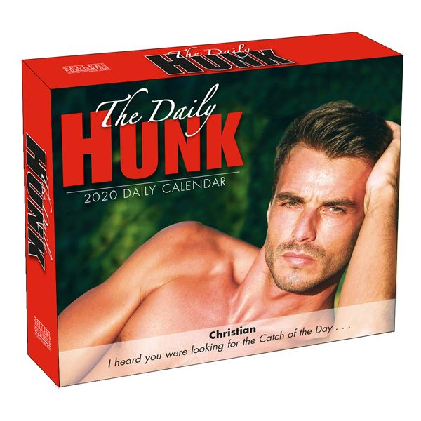 The Daily Hunk 2020 Daily Calendar