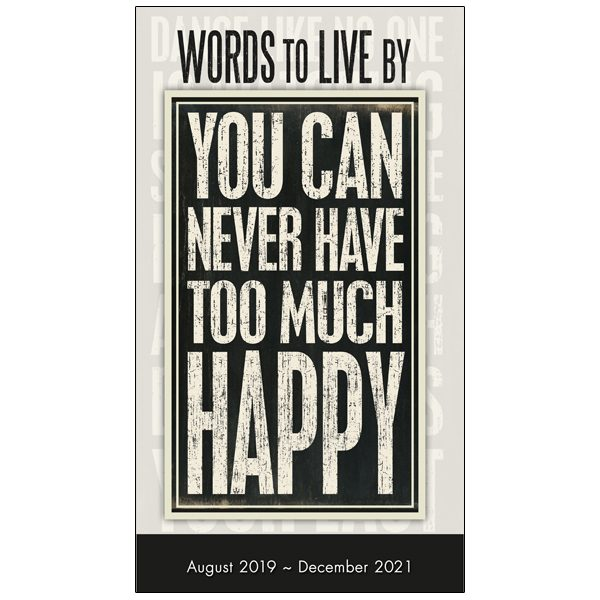 Words to Live By 2020 Two-Year-Plus Pocket Planner