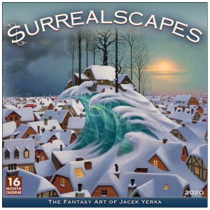 Surrealscapes 2020 Wall Calendar