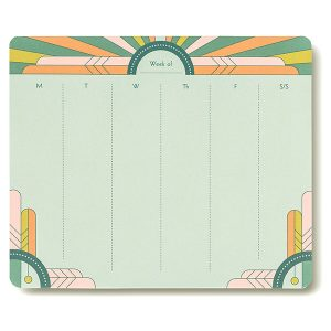 Gatsby Art Deco Weekly To-Do Pad