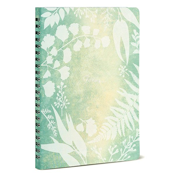 Mindfulness Botanical Personal Planning Notebook