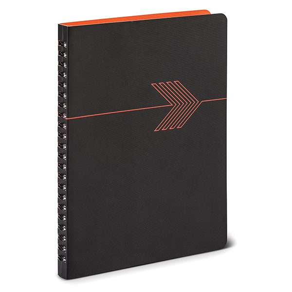 Geometric in Orange Personal Planning Notebook