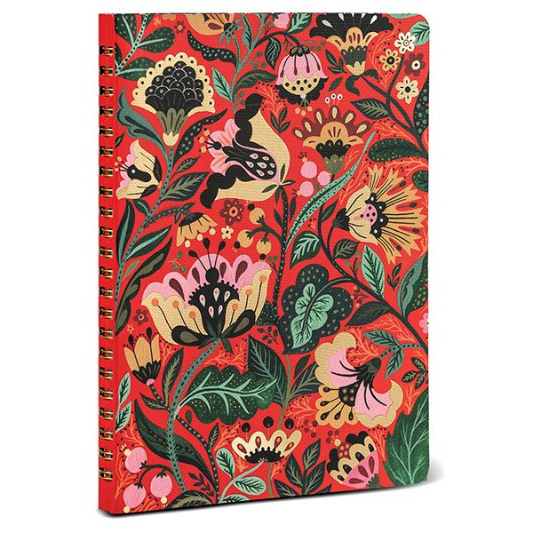 Dinara's Vibrant Floral Personal Planning Notebook