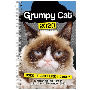 Grumpy Cat 2020 Weekly Planner