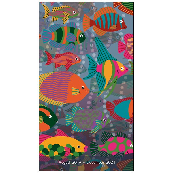 Fish 2020 Two-Year-Plus Pocket Planner