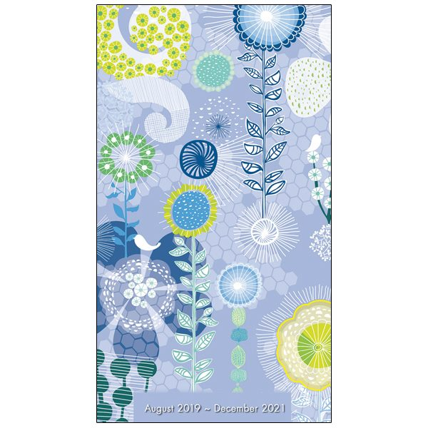 Floral Pattern 2020 Two-Year-Plus Pocket Planner