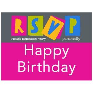 RSVP Birthday