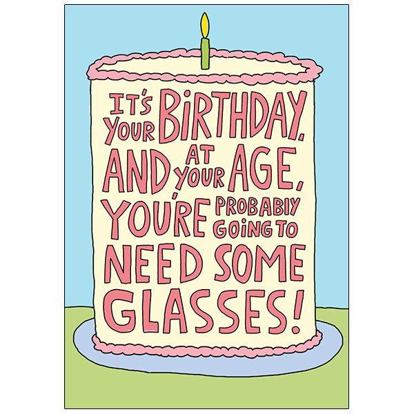 Birthday Humor by RSVP