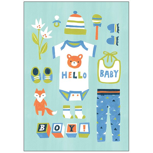 Boy Baby Congrats by RSVP