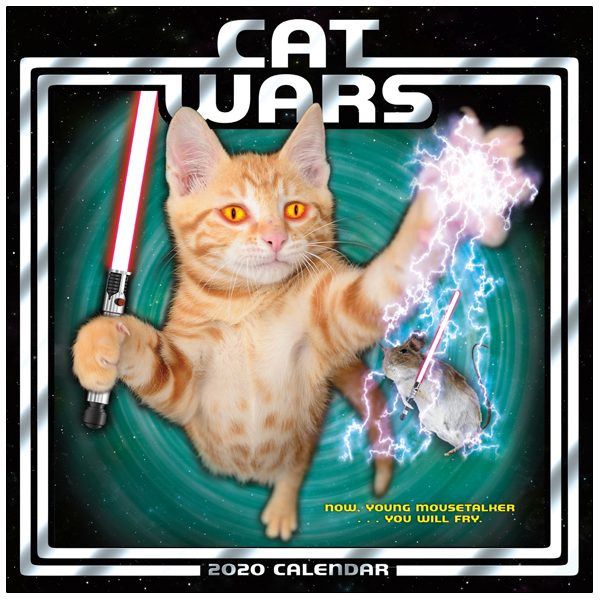 Cat Wars 2020 Mini Calendar