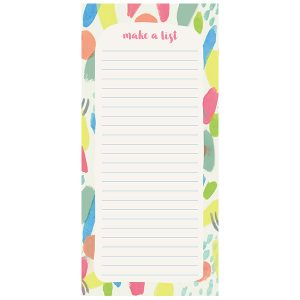 Fresh & Colorful Vertical List Pad