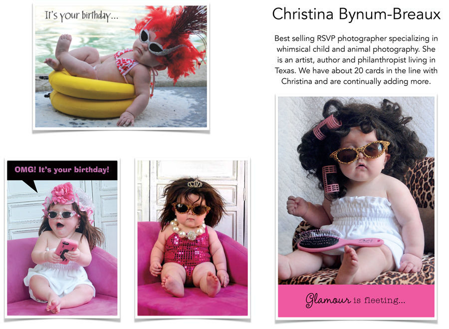 RSVP designs by Christina Bynum-Breaux