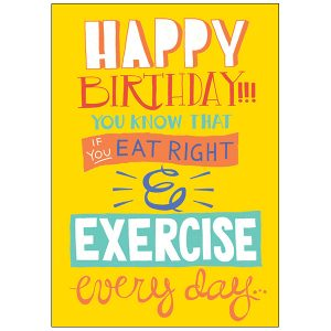 RSVP Humor Birthday - B5921