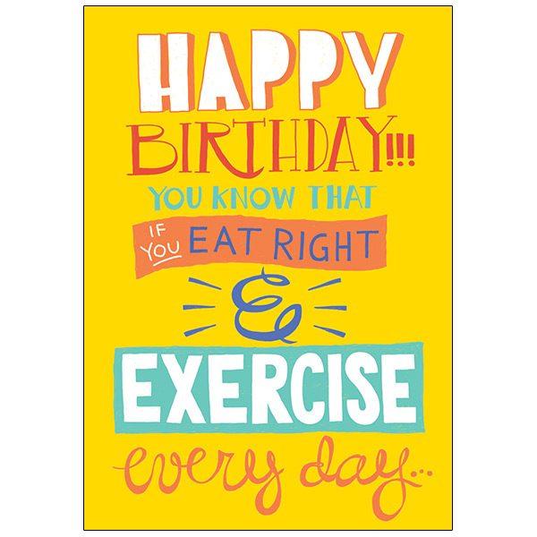 RSVP Humor Birthday - B5921