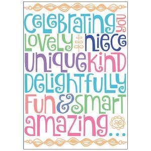RSVP Niece Birthday by Amy DietrichA