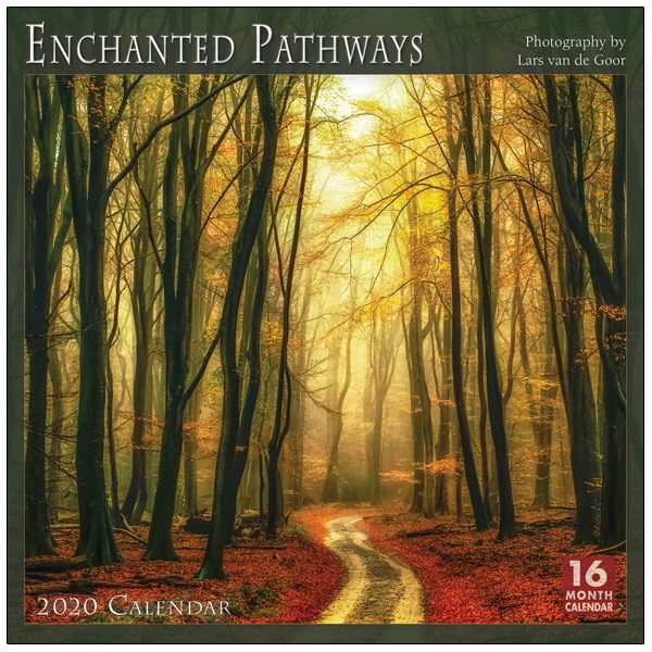 Enchanted Pathways 2020 Wall Calendar
