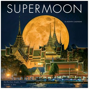Supermoon 2020 Wall Calendar