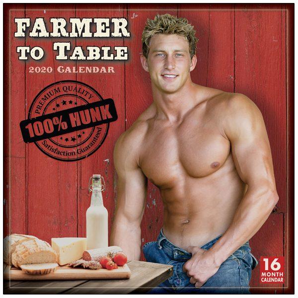 Farmer to Table 2020 Wall Calendar