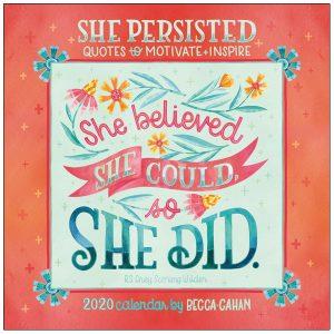 She Persisted 2020 Mini Calendar