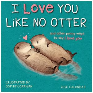 I Love You Like No Otter 2020 Mini Calendar